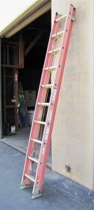 Louisville fe2220 Fiberglass Extension Ladder